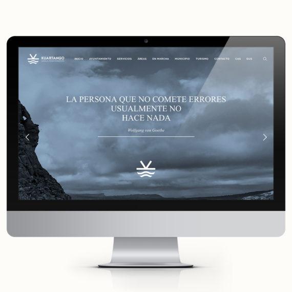 KUARTANGO WEB, DISEÑO WEB ARABA